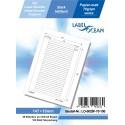 100 Feuille A4 Etiquettes Adhésives Autocollantes 147x10mm papier...