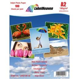 Papier Photo A2 LabelHeaven...
