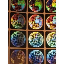 1000 Hologramme Le Monde Standard