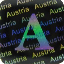 1000 Hologramme L'Autriche Standard