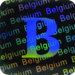 1000 Hologramme Belgium...