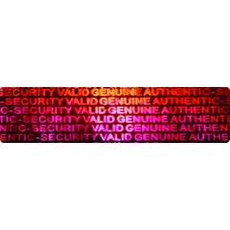 1000 Hologramme Authentic Security Valid Genuine Standard