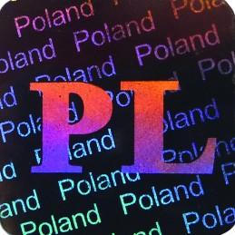 1000 Hologramme Pologne...