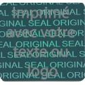 1000 Hologramme Standard Sceau Original Avec Votre Text Ou Logo Gris