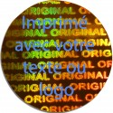 1000 Hologramme Standard Original Avec Votre Text Ou Logo Bleu Clair