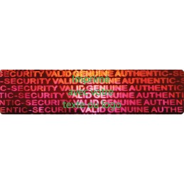 1000 Hologramme Standard Authentic Security Valid Genuine Avec...