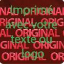 1000 Hologramme Standard Original Avec Votre Text Ou Logo Vert Clair