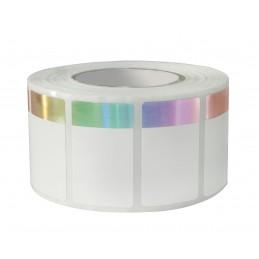1000 Etiquettes Format 40 x 24 mm Hologramme Adhésives Pour...