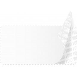 1000 Etiquettes Adhésives Blanc Void Sans Text Format 20 x 10 mm