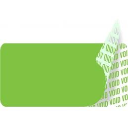 1000 Etiquettes Adhésives Vert Void Sans Text Format 20 x 10 mm