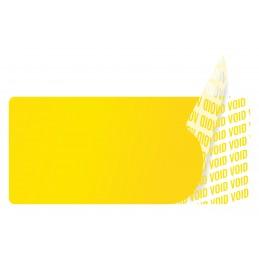 1000 Etiquettes Adhésives Jaune Void Sans Text Format 45 x 20 mm