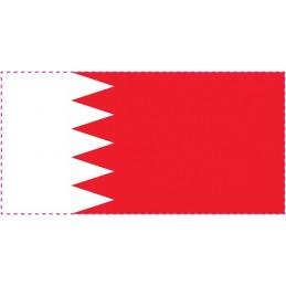 Drapeau Autocollant Bahreïn 5 cm