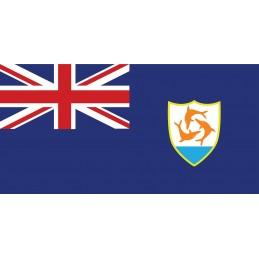 Drapeau Autocollant Anguilla 5 cm