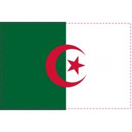 Drapeau Autocollant Algérie 5 cm