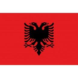 Drapeau Autocollant Albanie 5 cm