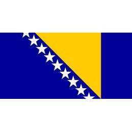 Drapeau Autocollant Bosnie...