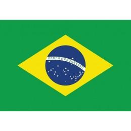 Drapeau Autocollant Brésil...