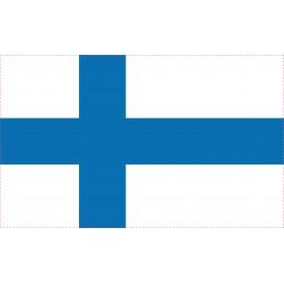 Drapeau Autocollant Finlande 5 cm
