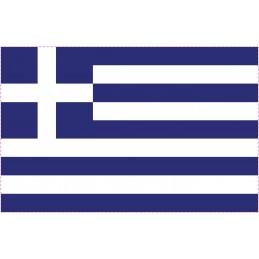 Drapeau Autocollant Grèce 5 cm