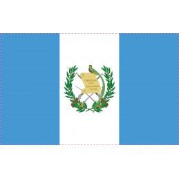 Drapeau Autocollant Guatemala 5 cm