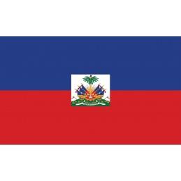 Drapeau Autocollant d'Haïti...