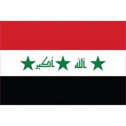 Drapeau Autocollant Iraq 5 cm