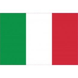 Drapeau Autocollant Italie...