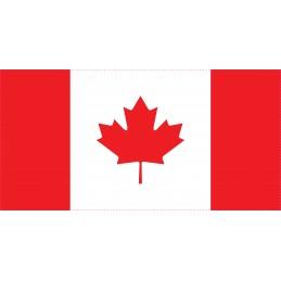 Drapeau Autocollant Canada...
