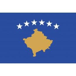 Drapeau Autocollant Kosovo...
