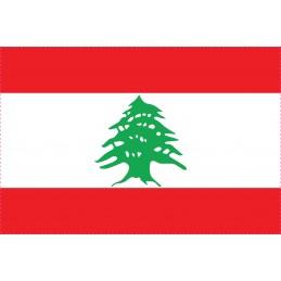Drapeau Autocollant Liban 5 cm