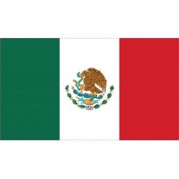 Drapeau Autocollant Mexique...