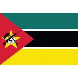 Drapeau Autocollant Mozambique 5 cm