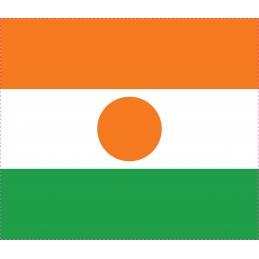Drapeau Autocollant Niger 5 cm