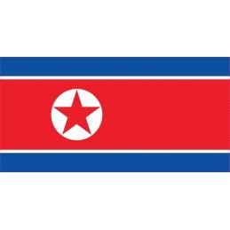 Drapeau Autocollant Corée...