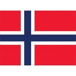 Drapeau Autocollant Norvège...