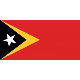 Drapeau Autocollant Timor...