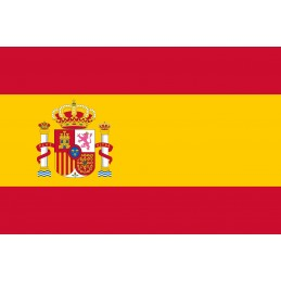 Drapeau Autocollant Espagne...