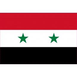 Drapeau Autocollant Syrie 5 cm