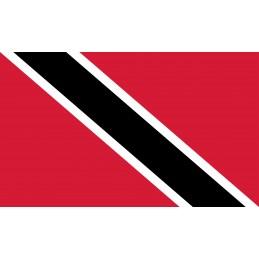 Drapeau Autocollant Trinidad et Tobago 5 cm