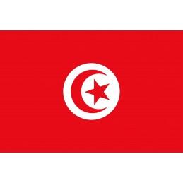 Drapeau Autocollant Tunisie...