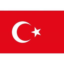 Drapeau Autocollant Turquie 5 cm