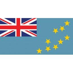 Drapeau Autocollant Tuvalu...
