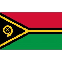 Drapeau Autocollant Vanuatu...