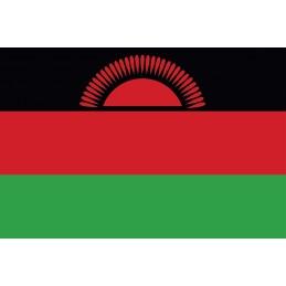 Drapeau Autocollant Malawi 10 cm