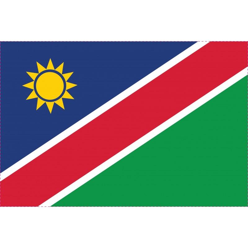 Drapeau Autocollant Namibie 10 cm