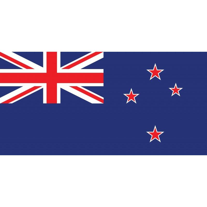 Drapeau Autocollant Nouvelle Zélande 10 cm