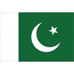 Drapeau Autocollant Pakistan 10 cm