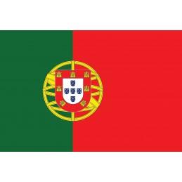 Drapeau Autocollant Portugal 10 cm