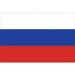 Drapeau Autocollant Russie 10 cm