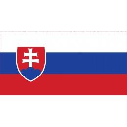 Drapeau Autocollant Slovaquie 10 cm